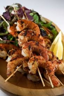 BARBECUED SHRIMPS (A)